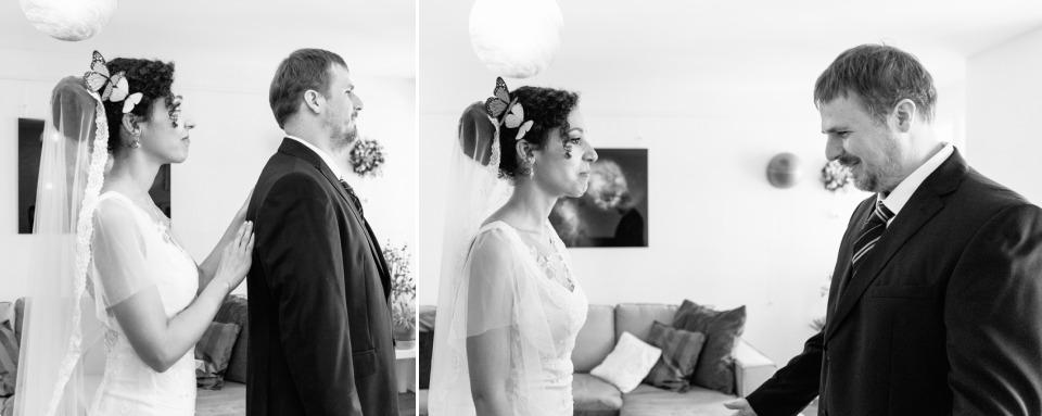 photographe mariage Lausanne habillage decouverte
