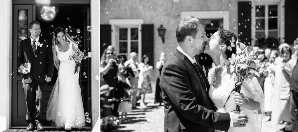 photographe mariage Lausanne sortie mairie