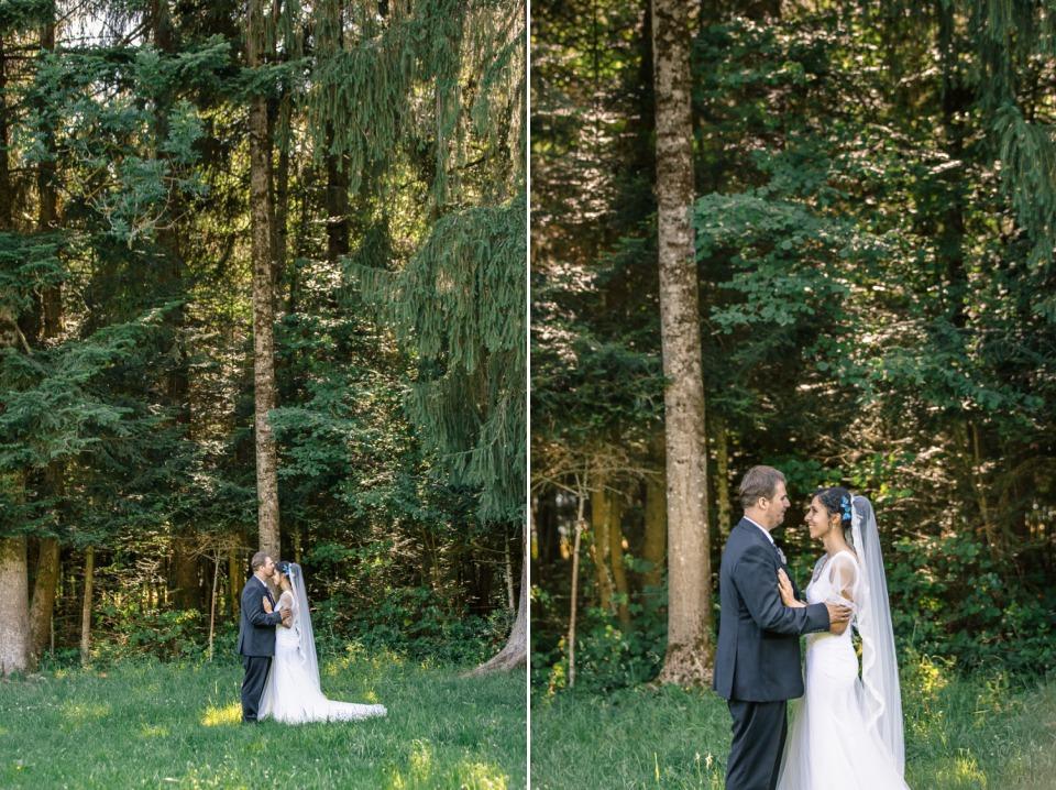 photographe mariage haute savoie foret