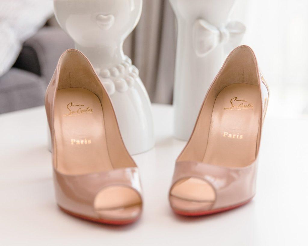 Chaussure Louboutin de mariée
