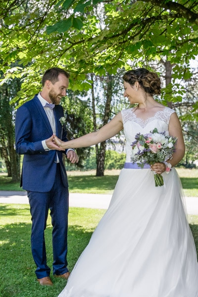 mariage au château de Candie à Chambéry