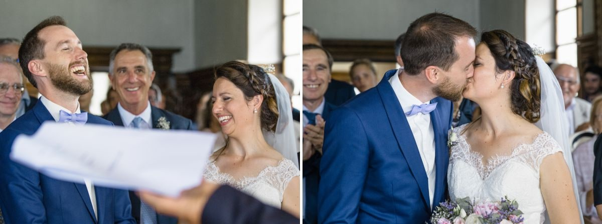 Mariage civil à Tresserve