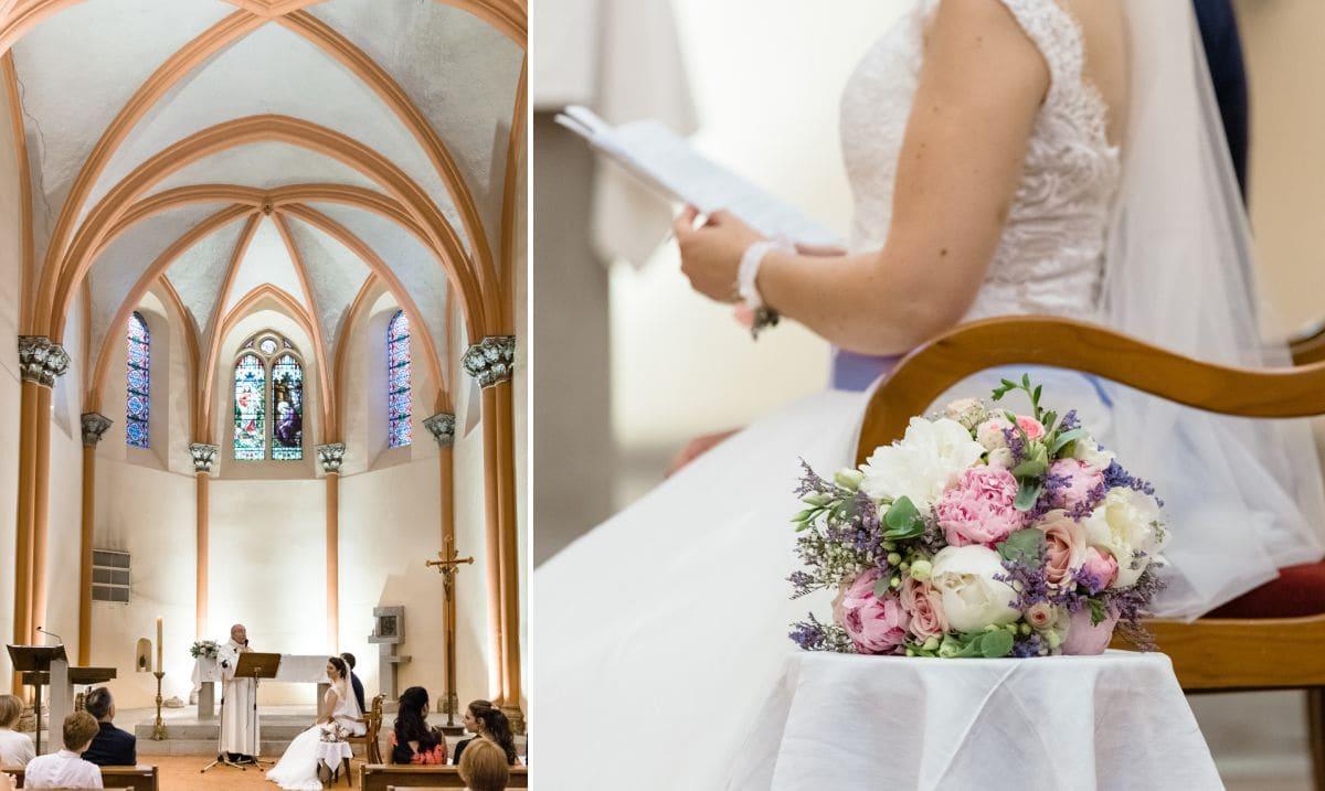 Mariage religieux à Tresserve
